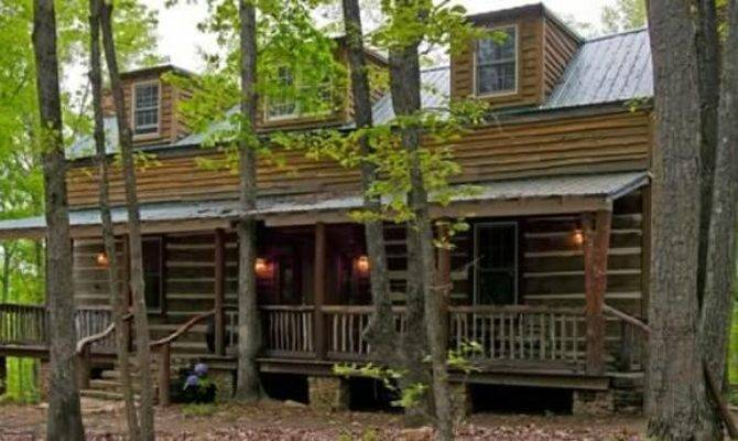 Old Style Hand Hewn Log Home Restored Homes Lifestyle