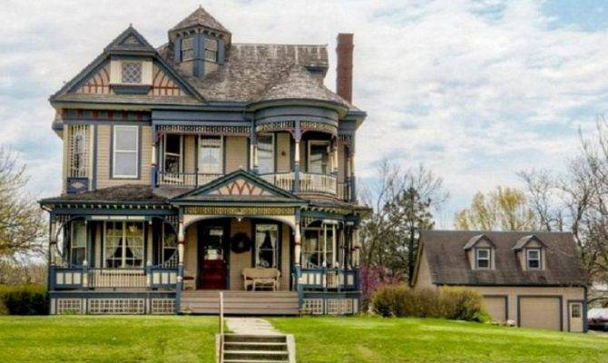Old Victorian House Design Gothic Revival Plans