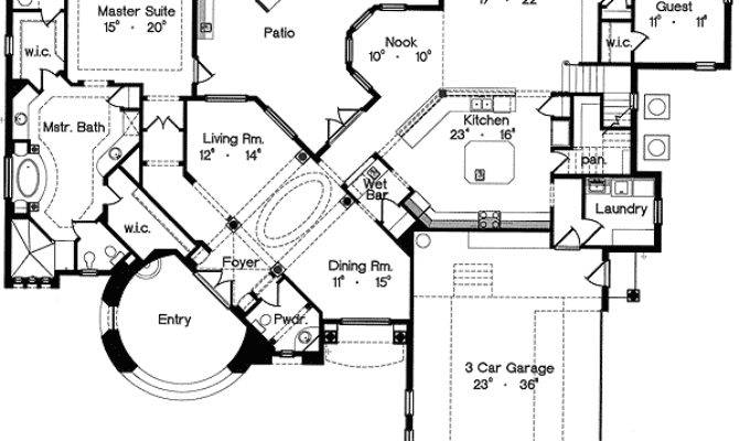 Old World Design Floor Master Suite Bonus