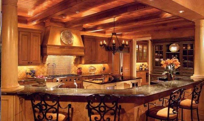 Old World Kitchen Design Ideas House Plans 5110