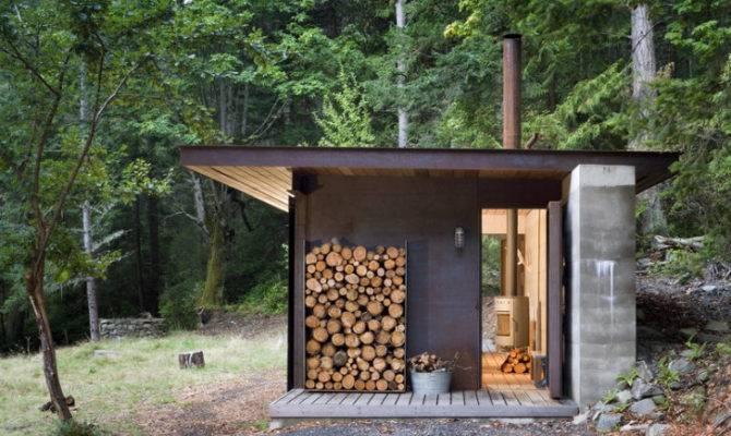 Olson Kundig One Room Gulf Islands Cabin Minimalist Retreat