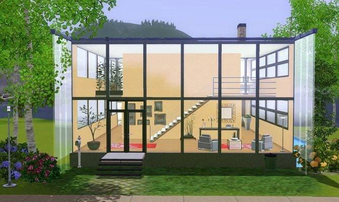 Omg Love House Like Those Glass Cube