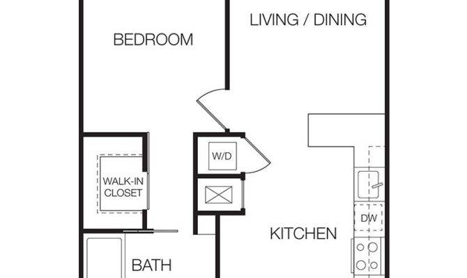 One Bedroom Apartment Floor Plans Photos Video