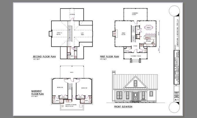 One Bedroom Cabin Plans Details Square