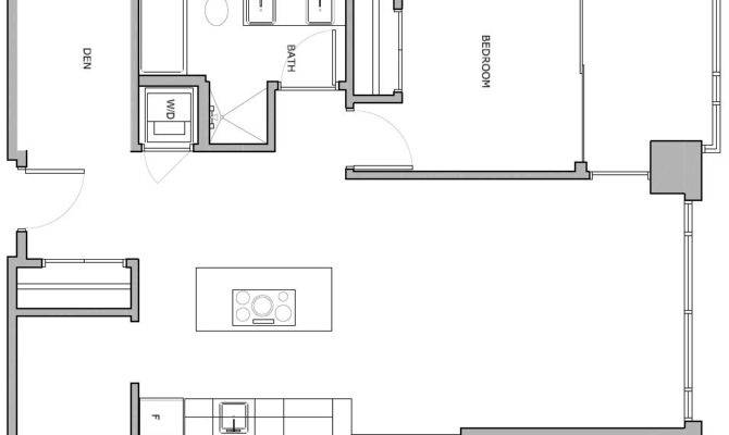 One Bedroom Condo Floor Plan Decor Ideas