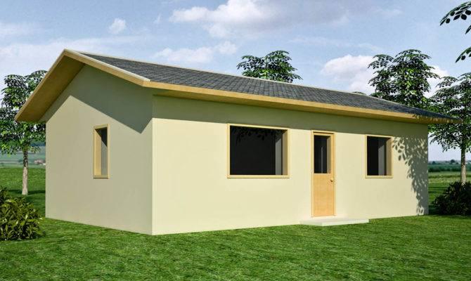 One Bedroom Earthbag House Plans