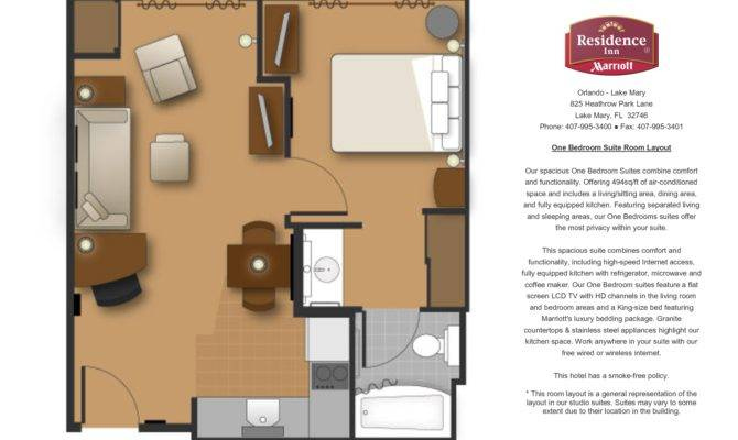 One Bedroom Floor Plan Niusheng