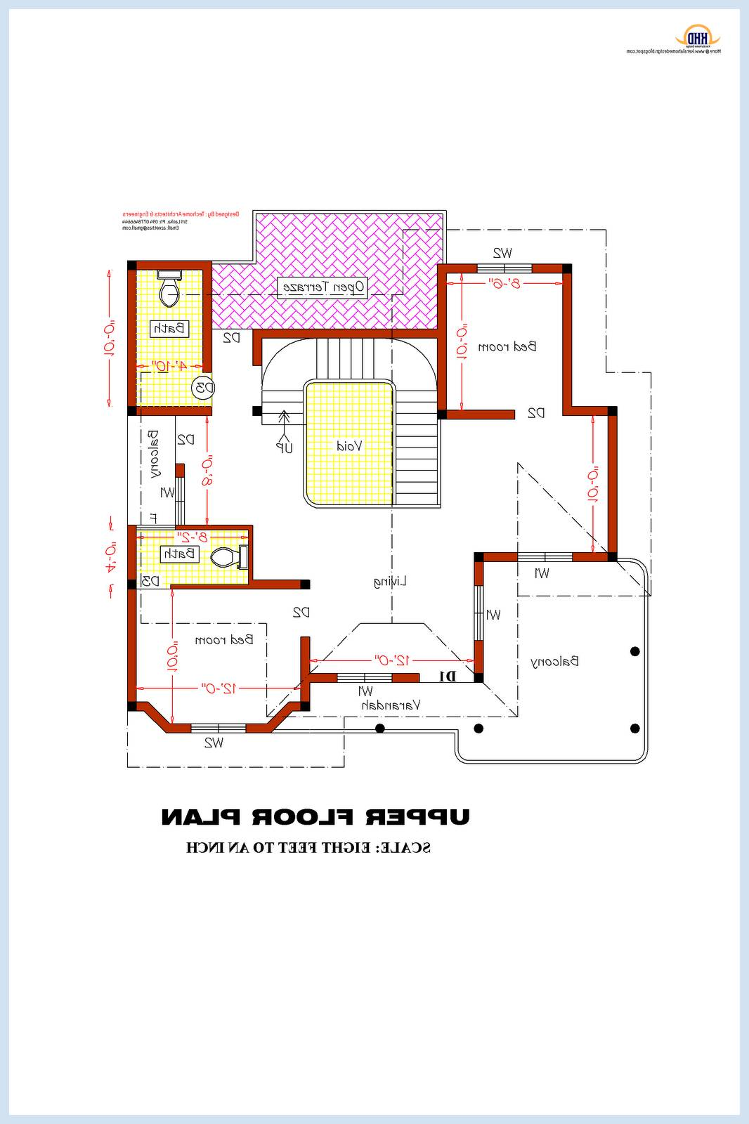 One Bedroom House Plan Designs Nigeria Home Combo - House Plans