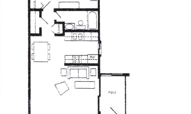 One Bedroom House Plans Smalltowndjs