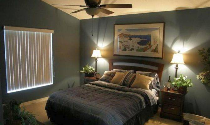 One Bedroom Interior Design Part Relaxing Color Ideas