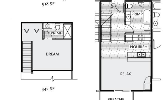 One Bedroom Loft Apartment Floor Plans