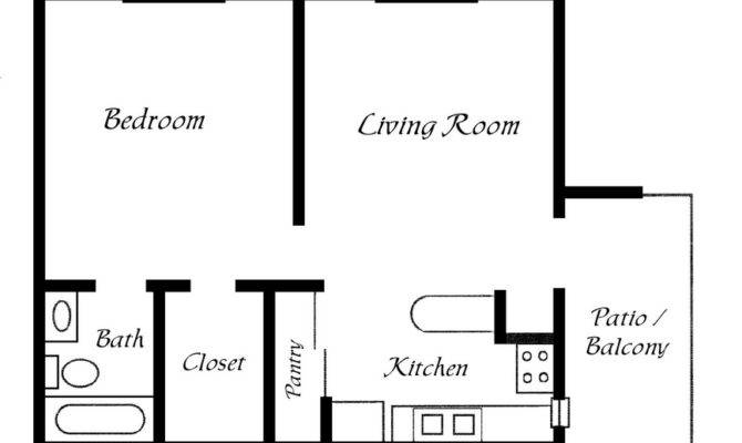 One Bedroom Trailer Floor Plans Joy Studio Design