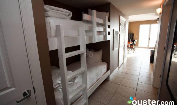 One Bedroom Two Bathroom Condo Bunk Area