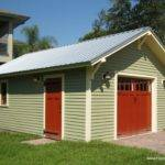 One Car Bungalow Garage Historic Shed Florida
