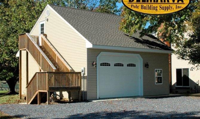 One Car Garage Loft Pole Building More