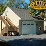 One Car Garage Loft Pole Building Residential Buildings