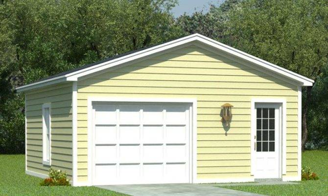 One Car Garage Plans Plan Storage