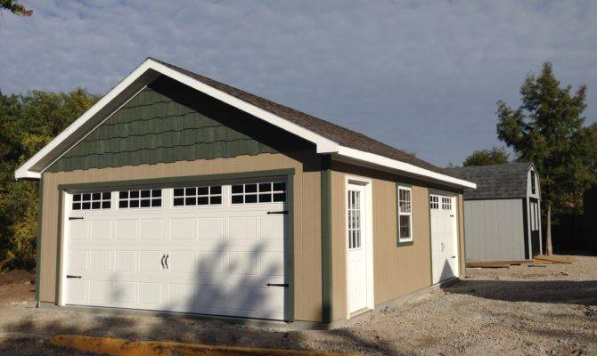 One Car Garage Portable Buildings Storage Sheds Tiny