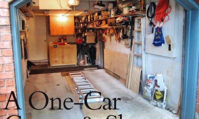 One Car Garage Workshop Woodarchivist