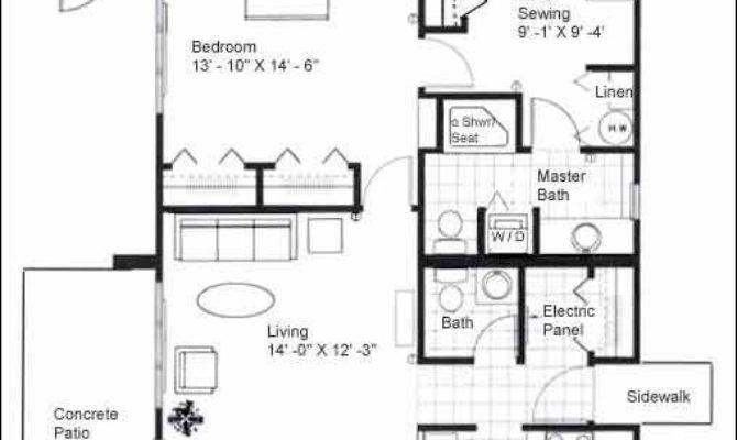 One Floor Cabin Plans Joy Studio Design Best