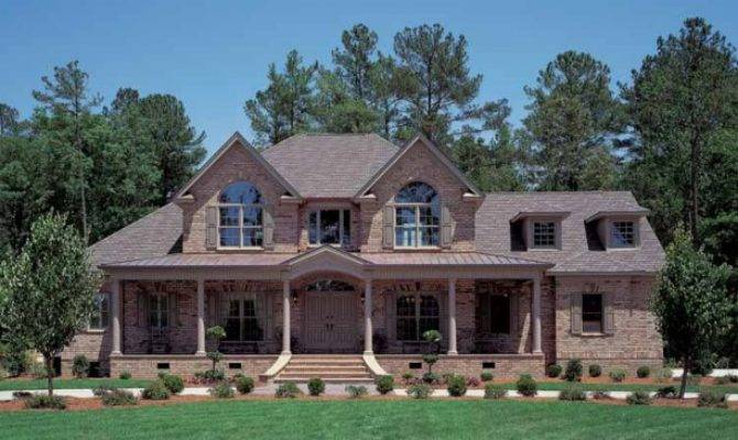 One Kind Texas Style Country Home Brick Wainscot