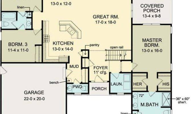 One Level House Plans Basement Unique First Floor