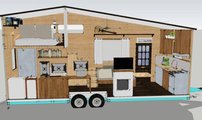 One Our Initial Tiny House Plans