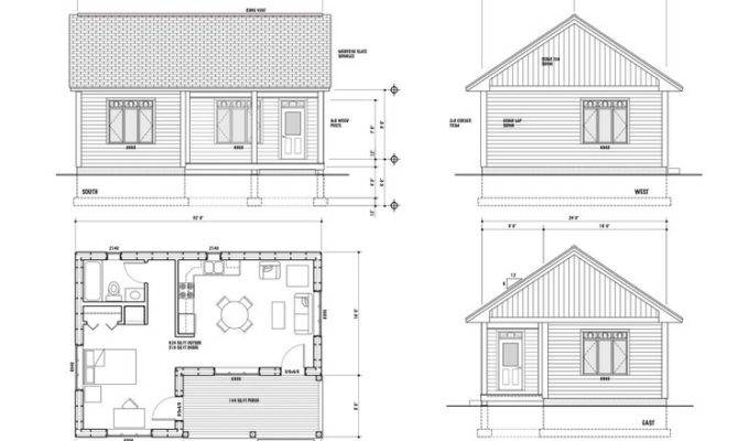 One Room House Layout Maison Scoudouc Plan