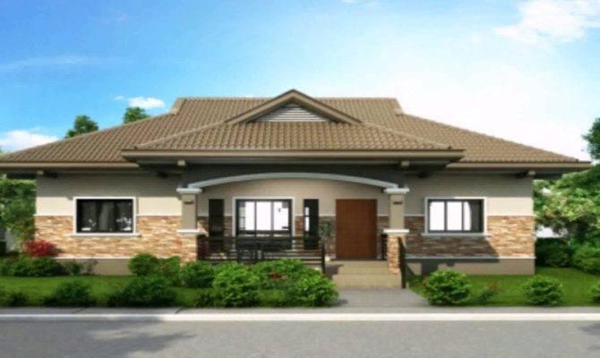One Storey House Design Floor Plan Philippines Youtube