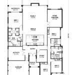 One Storey House Designs Floor Plans Home Deco