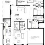 One Storey Modern House Plans Homes Floor