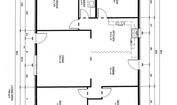 One Story Brick Home Floor Plans
