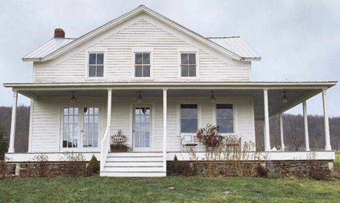 One Story Farmhouse Plans Wrap Around Porch Modern House