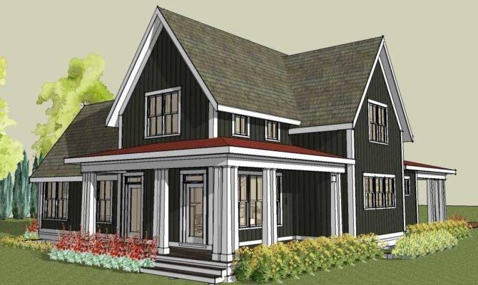 One Story Farmhouse Plans Wrap Around Porch