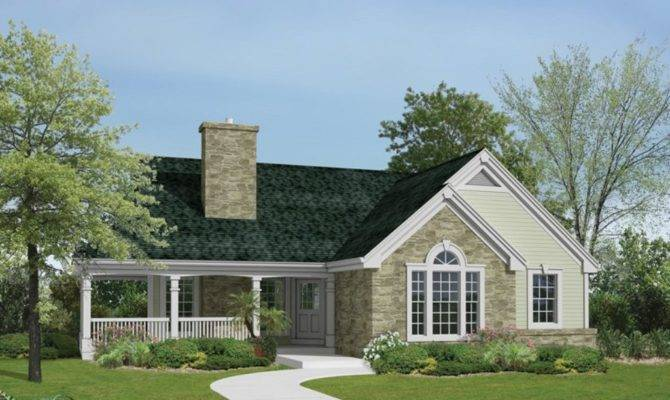 One Story Gable Roof House Plans