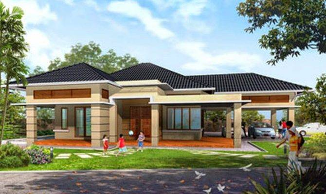 One Story Home Designs Design Plan Log Homes Luxury Modern