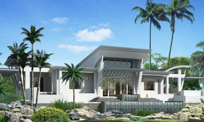 One Story Home Modern House Small