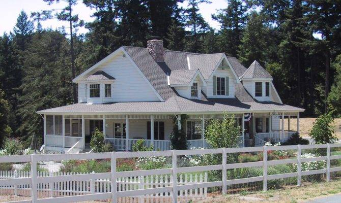 One Story Homes Wrap Around Porch House Plan
