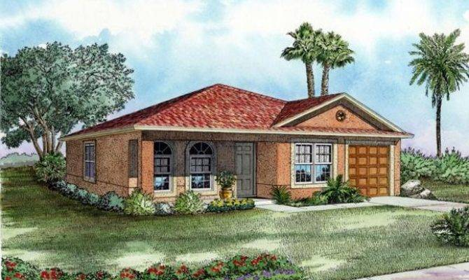 One Story House Plans Cottage