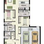 One Story House Plans Porches Bedrooms
