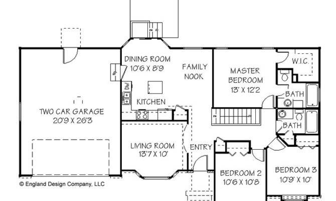One Story House Plans Storey Home Floor Plan Design