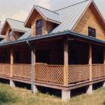 One Story House Plans Wraparound Porches Unique