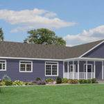 One Story Ranch Home Plans