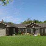 One Story Ranch Houses Glamorgan Modular Home Floor Plan