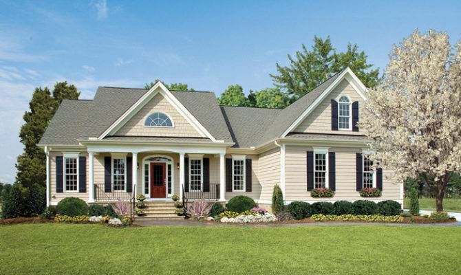 One Story Ranch Style Home Plans Don Gardner