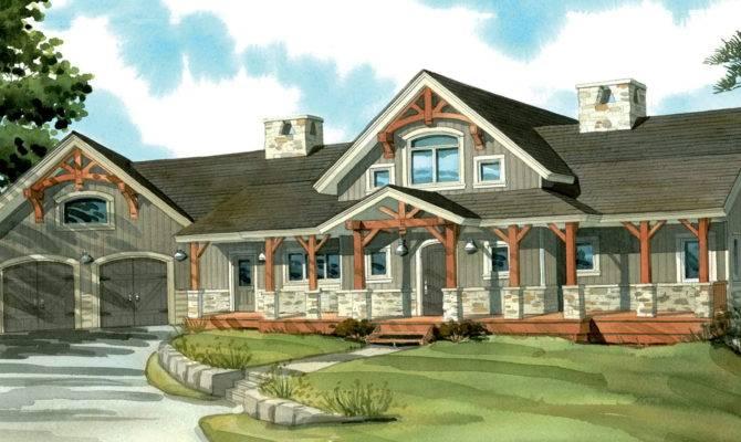 One Story Wrap Around Porch House Plans Danutabois