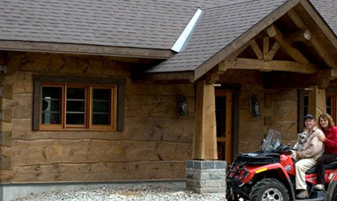 Ontario Log Home Floor Plans Design Style