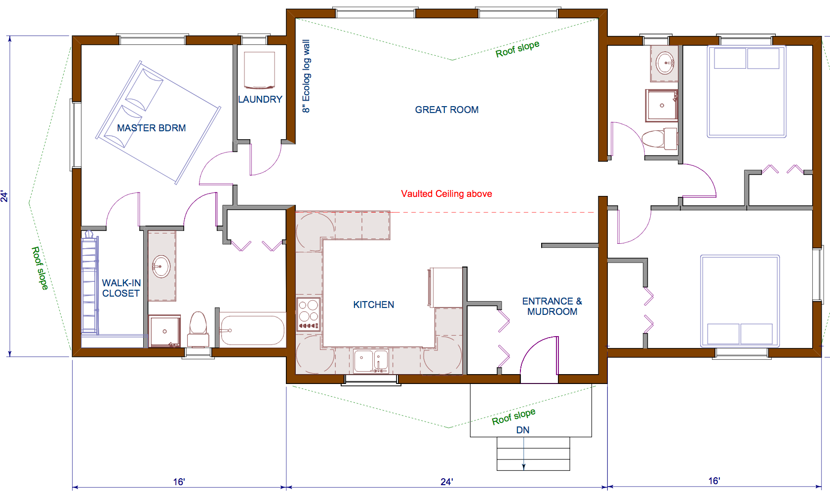 Bungalow Floor Plans Ecolog Homes