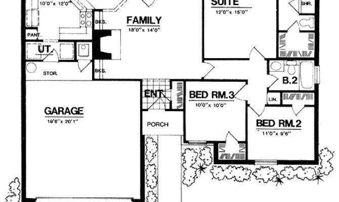 Open Concept Design Floor Master Suite Cad