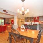 Open Concept Floor Plan Lagois Demonstrates Kitchen